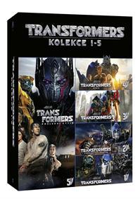 Transformers kolekce 1-5 5DVD