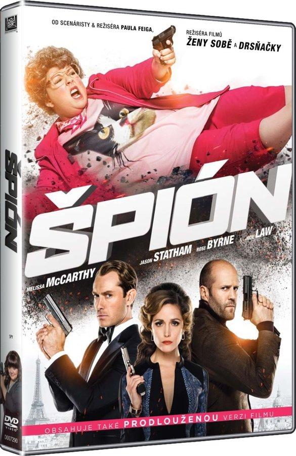 Špión - DVD plast