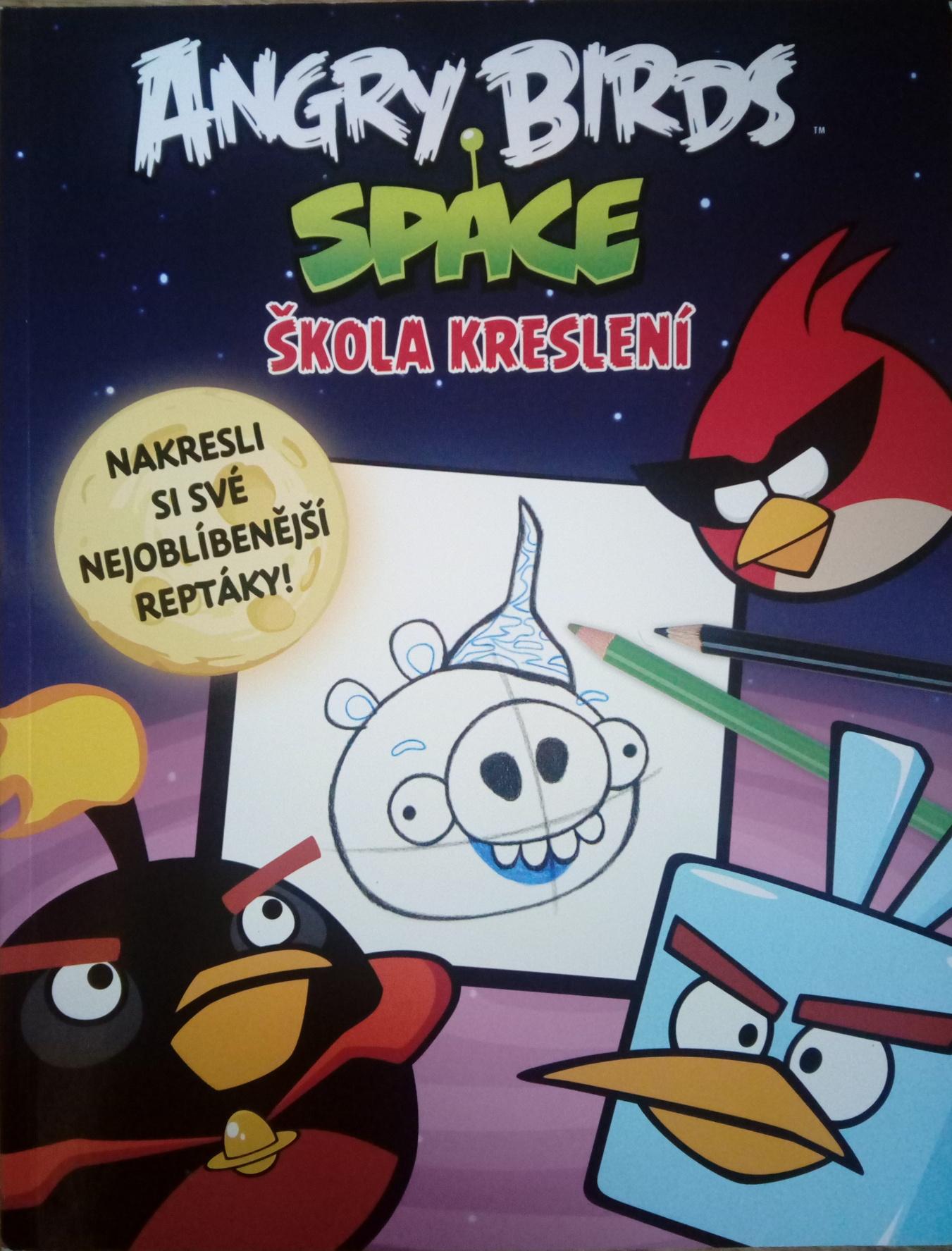 Angry Birds Space škola kreslení