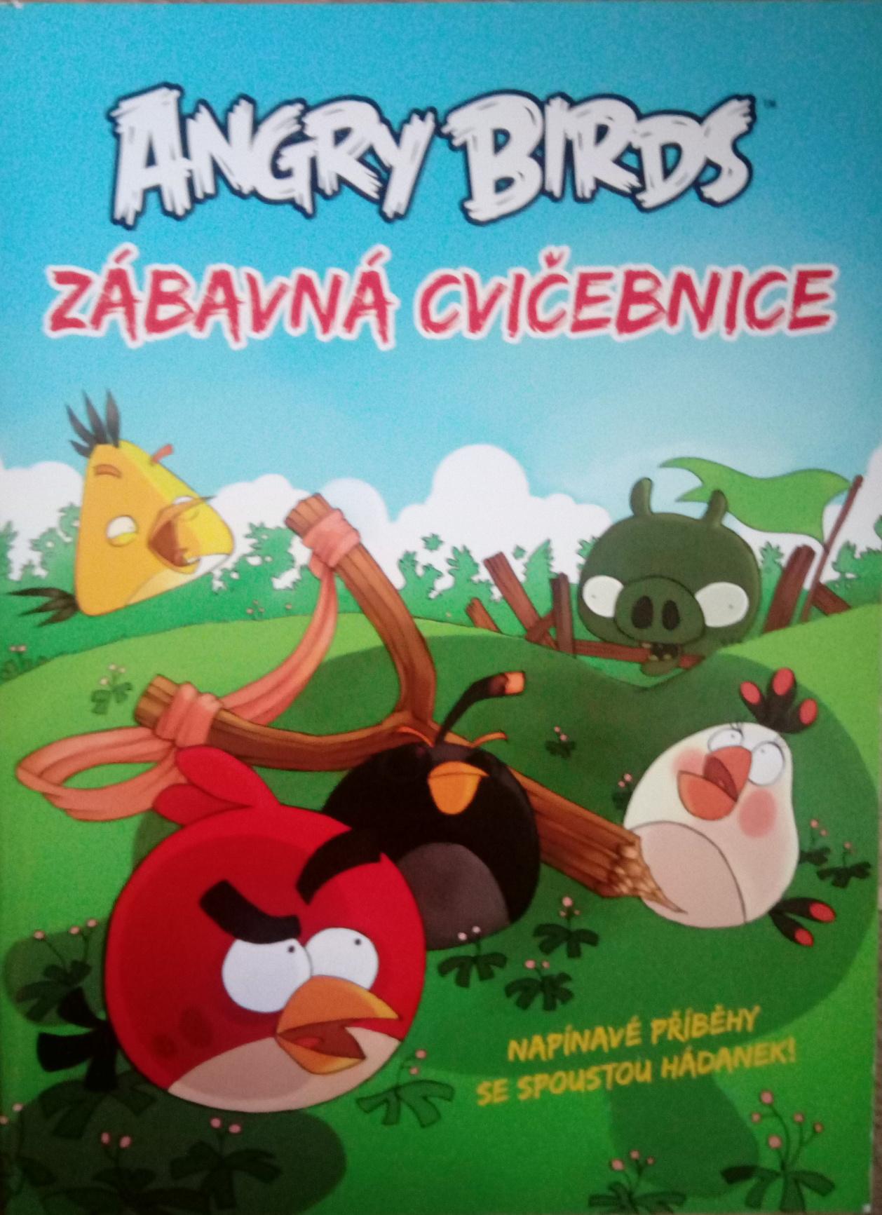 Angry Birds zábavná cvičebnice