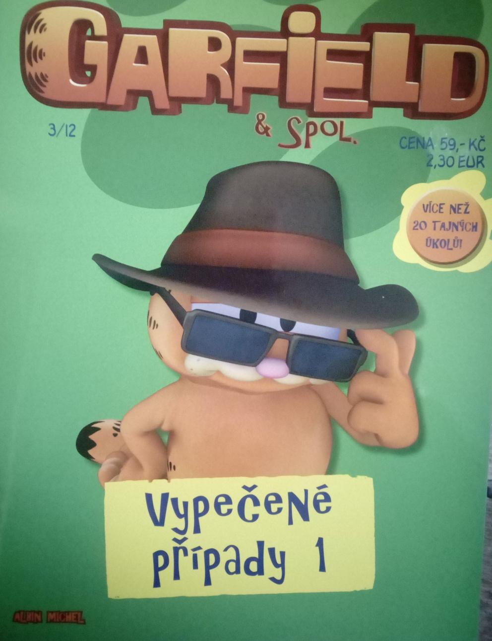 Garfield a spol. vypečené případy 1