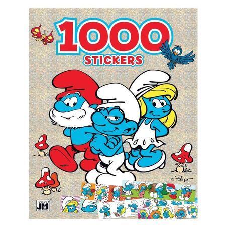1000 samolepek Šmoulové