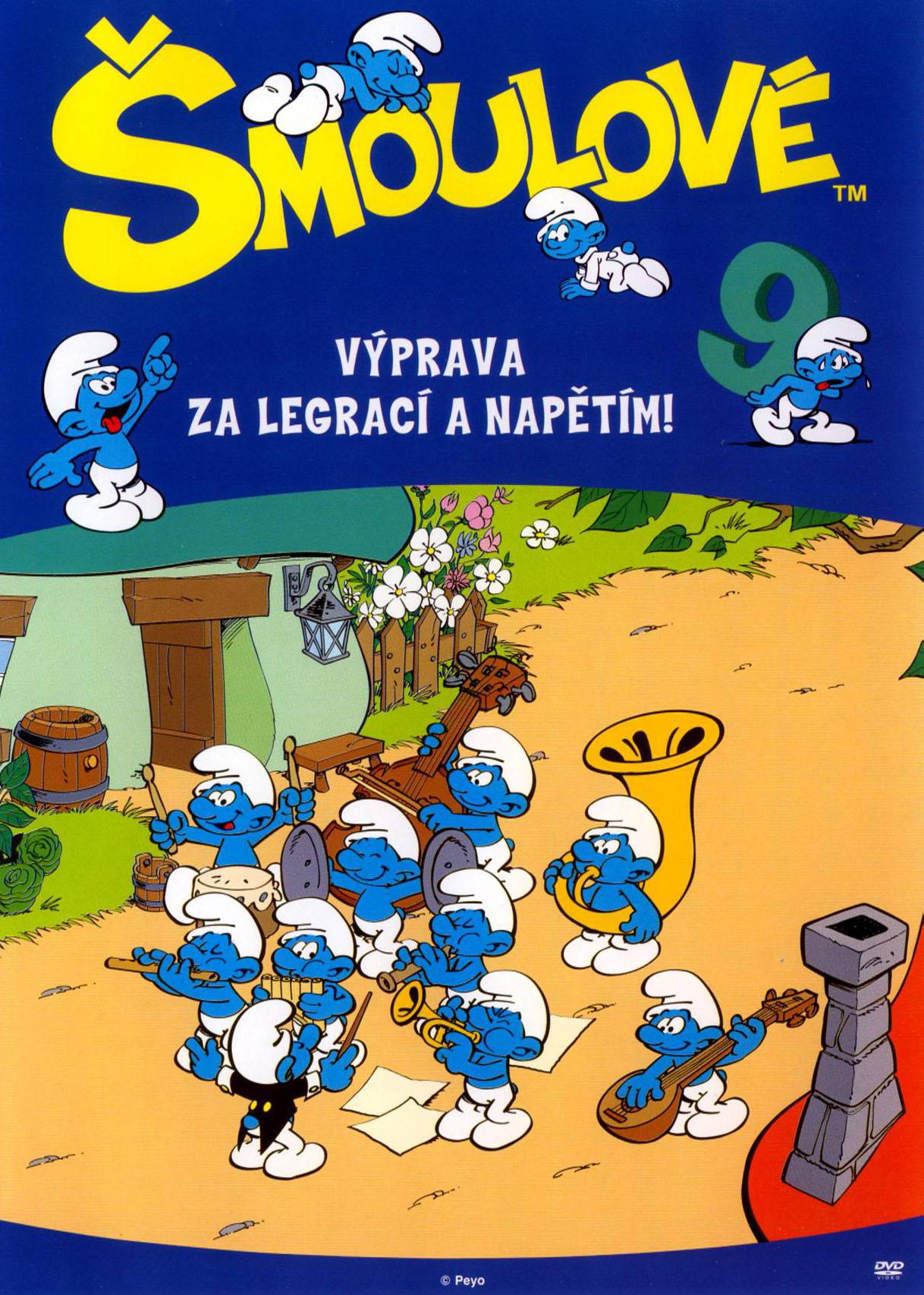 Šmoulové 09 - DVD