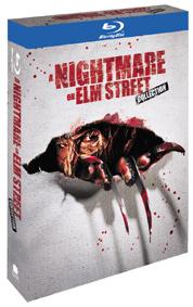 Kolekce Noční můra v Elm Street 1-7. 4Blu-ray+1DVD s bonusy