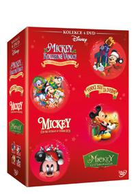 Vánoční Mickey kolekce 4DVD