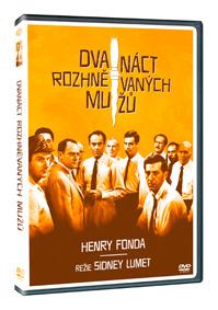 Dvanáct rozhněvaných mužů - DVD plast