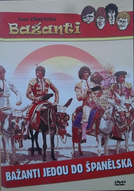 Bažanti - bažanti jedou do Španělska ( pošetka ) - DVD