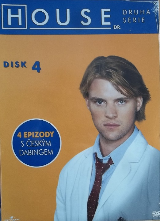 Dr. House - 2.série disk 4 - DVD