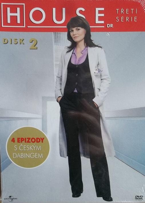 Dr. House - 3. série disk 2 - DVD