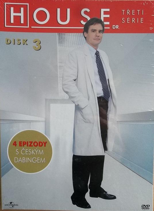 Dr. House - 3. série disk 3 - DVD