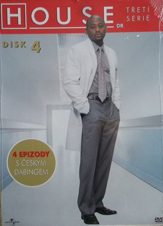 Dr. House - 3. série disk 4 - DVD