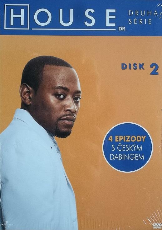 Dr. House - 2. série disk 2 - DVD