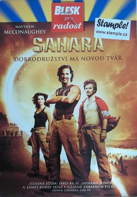 Sahara -poš. - DVD