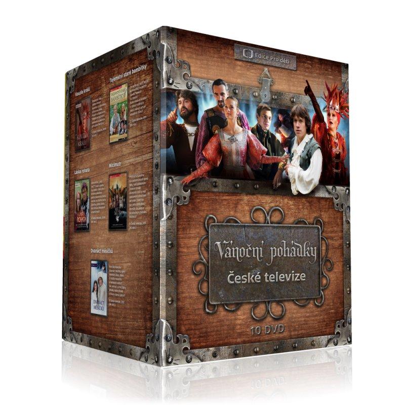 Vánoční pohádky České televize - 10 DVD