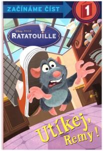 Utíkej Remy! Ratatouille - začínáme číst