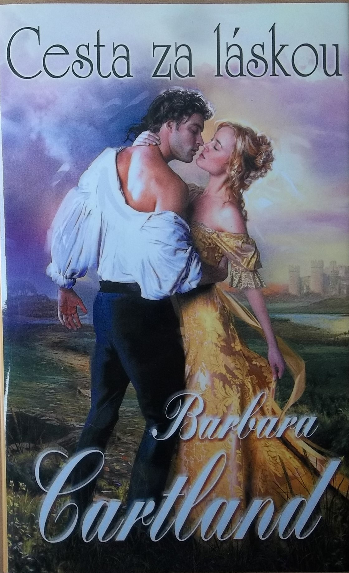Cesta za láskou - Barbara Cartland
