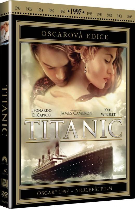 Titanic - DVD plast