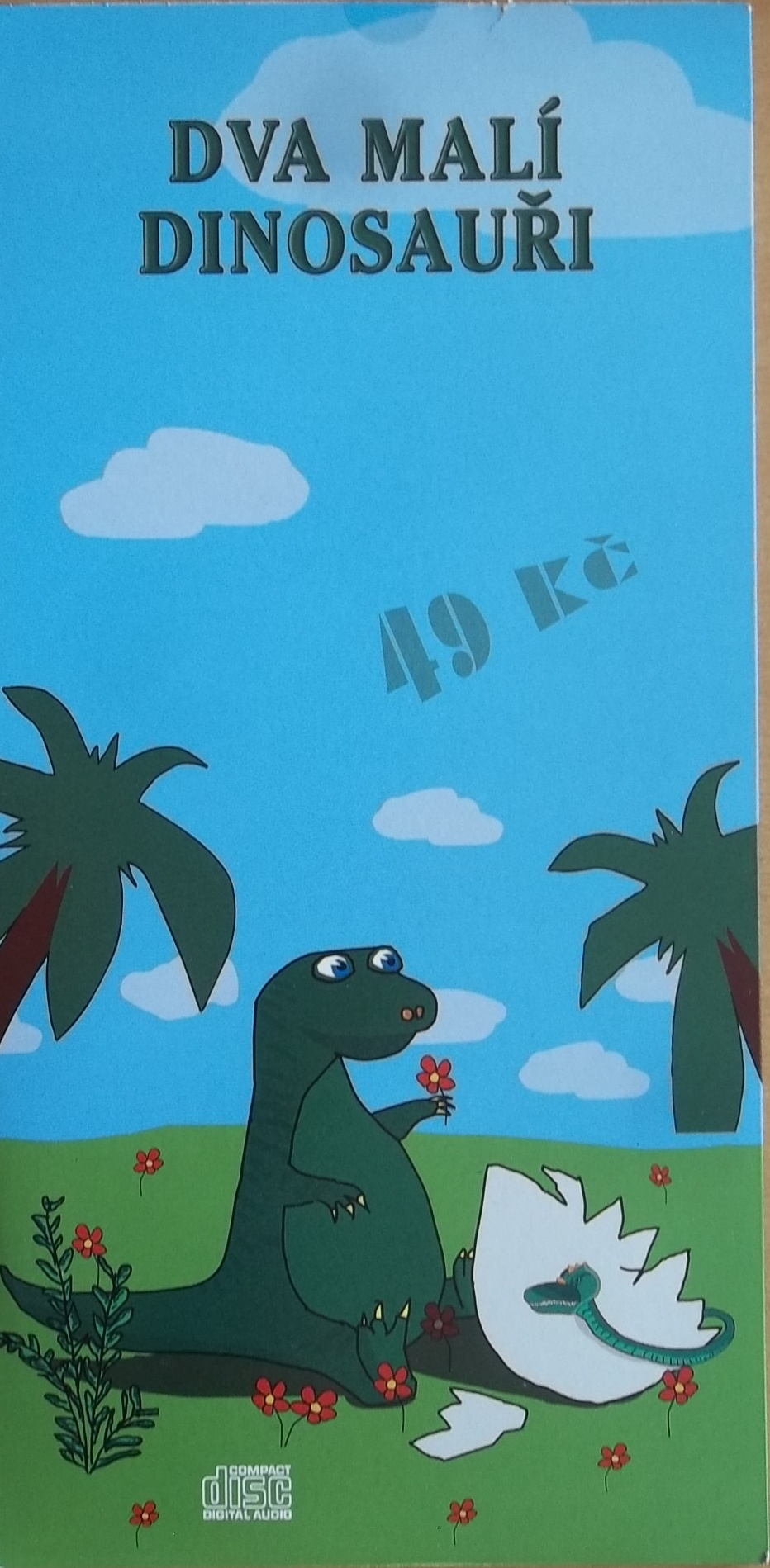 Dva malí dinosauři CD