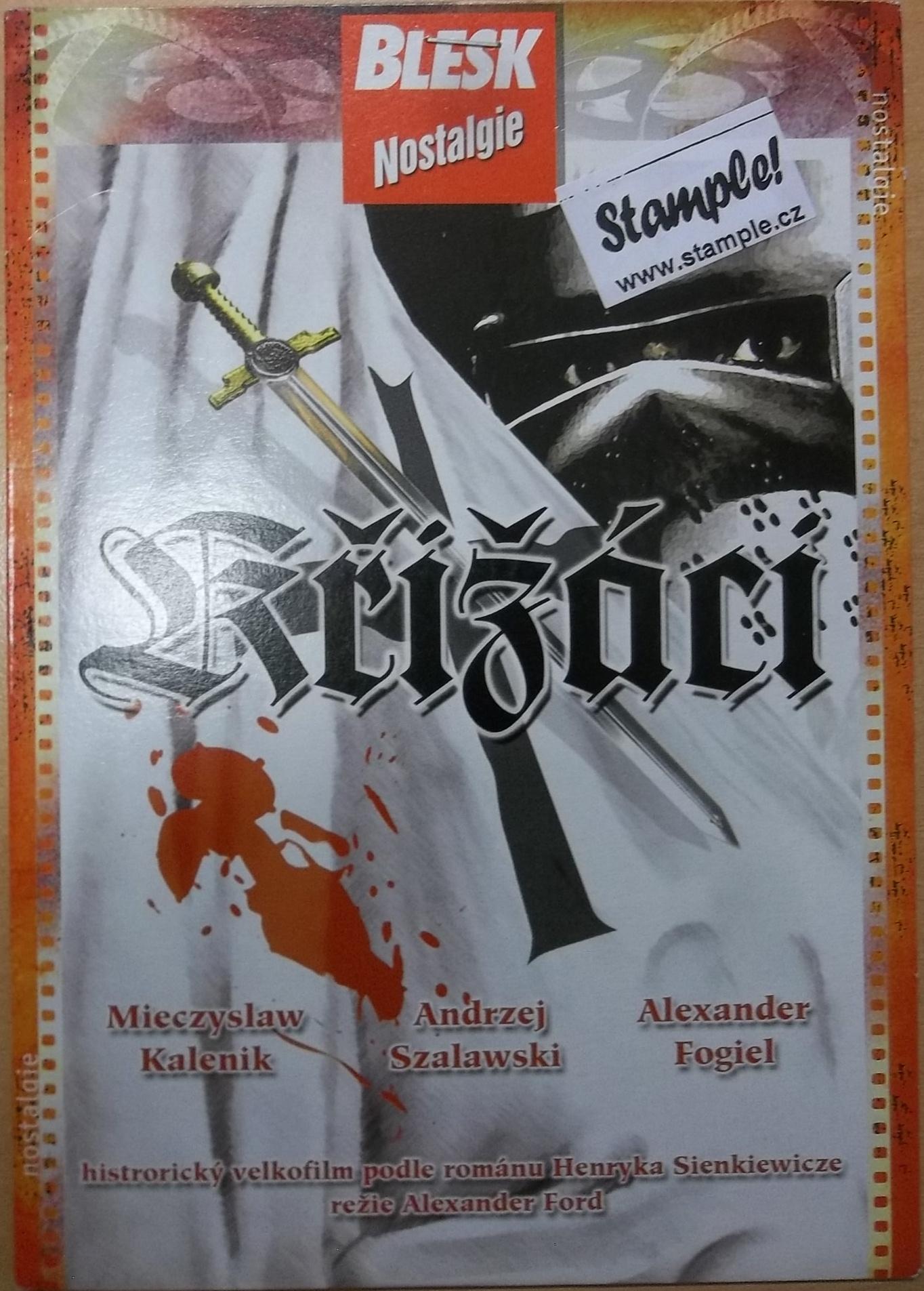 Křižáci - DVD pošetka