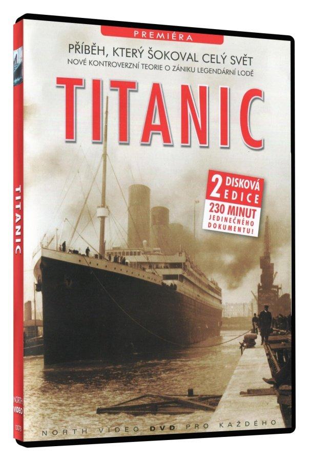 Titanic 2disková edice - dokument - DVD