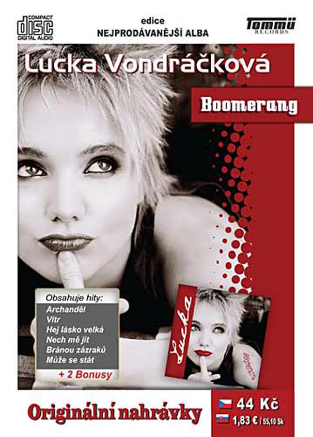 Lucka Vondráčková - Boomerang - CD