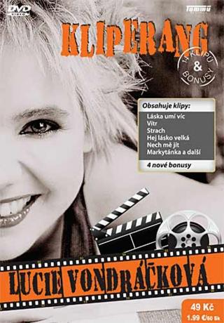 Kliperang Lucie Vondráčková - DVD