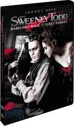 Sweney Todd Ďábelský holič z Fleet Street - DVD