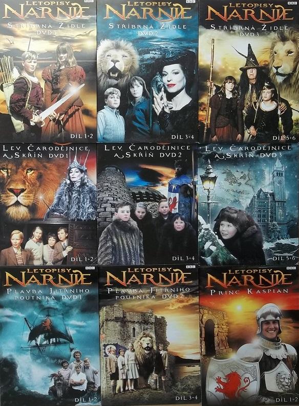 Kolekce Letopisy narnie  9 DVD ( kompletní )