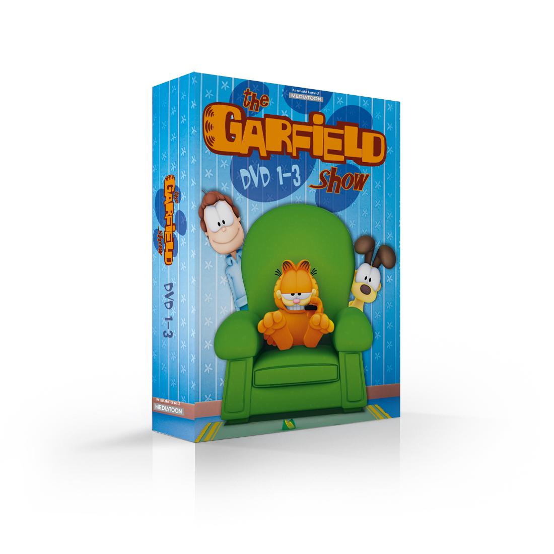 Garfield: kolekce 1-3 (3 DVD) - DVD