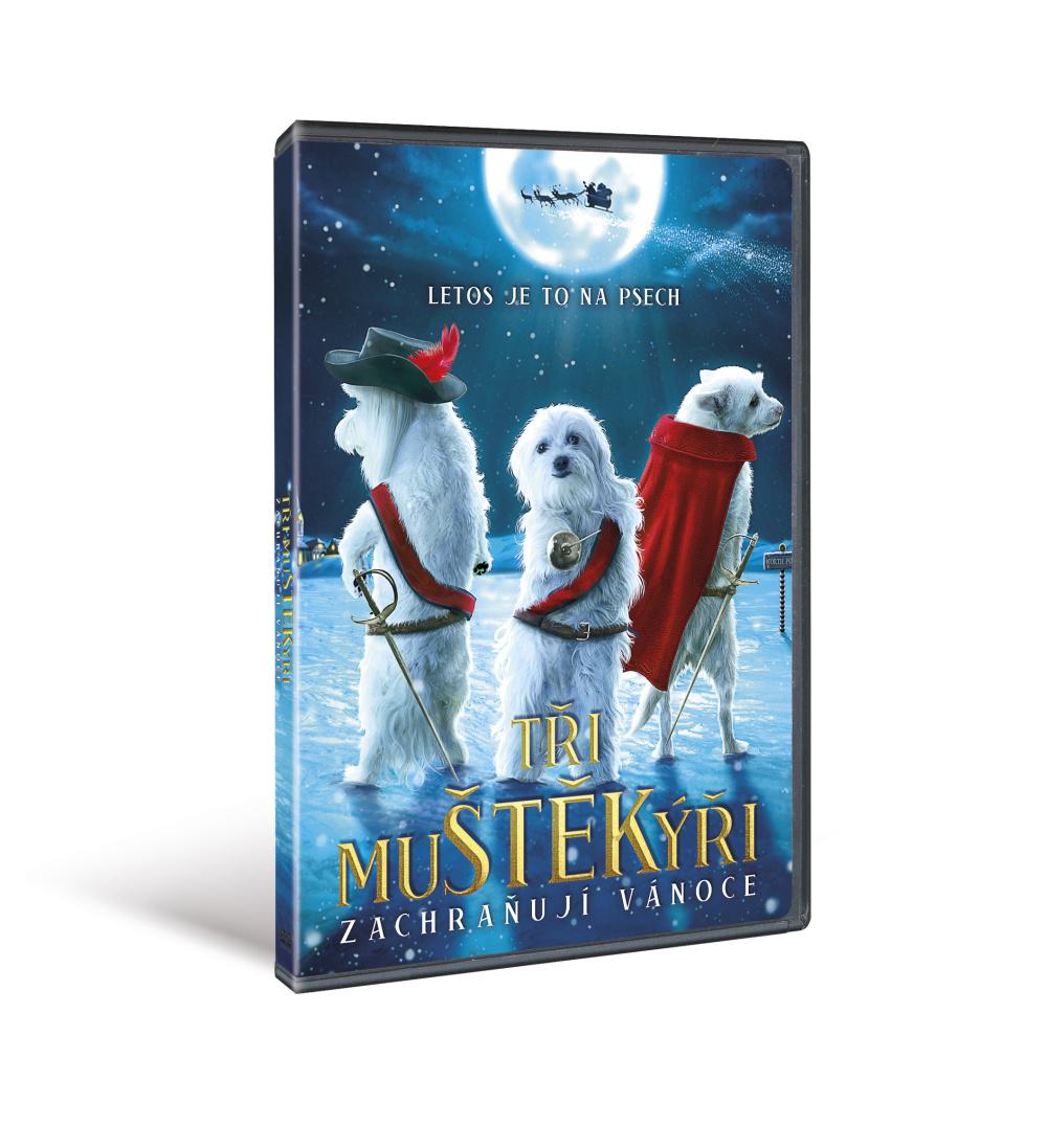 Tři mušketýři zachraňují vánoce ( plast ) - DVD