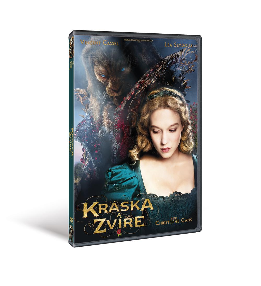 Kráska a zvíře - DVD plast