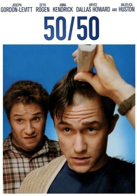 50/50 DVD