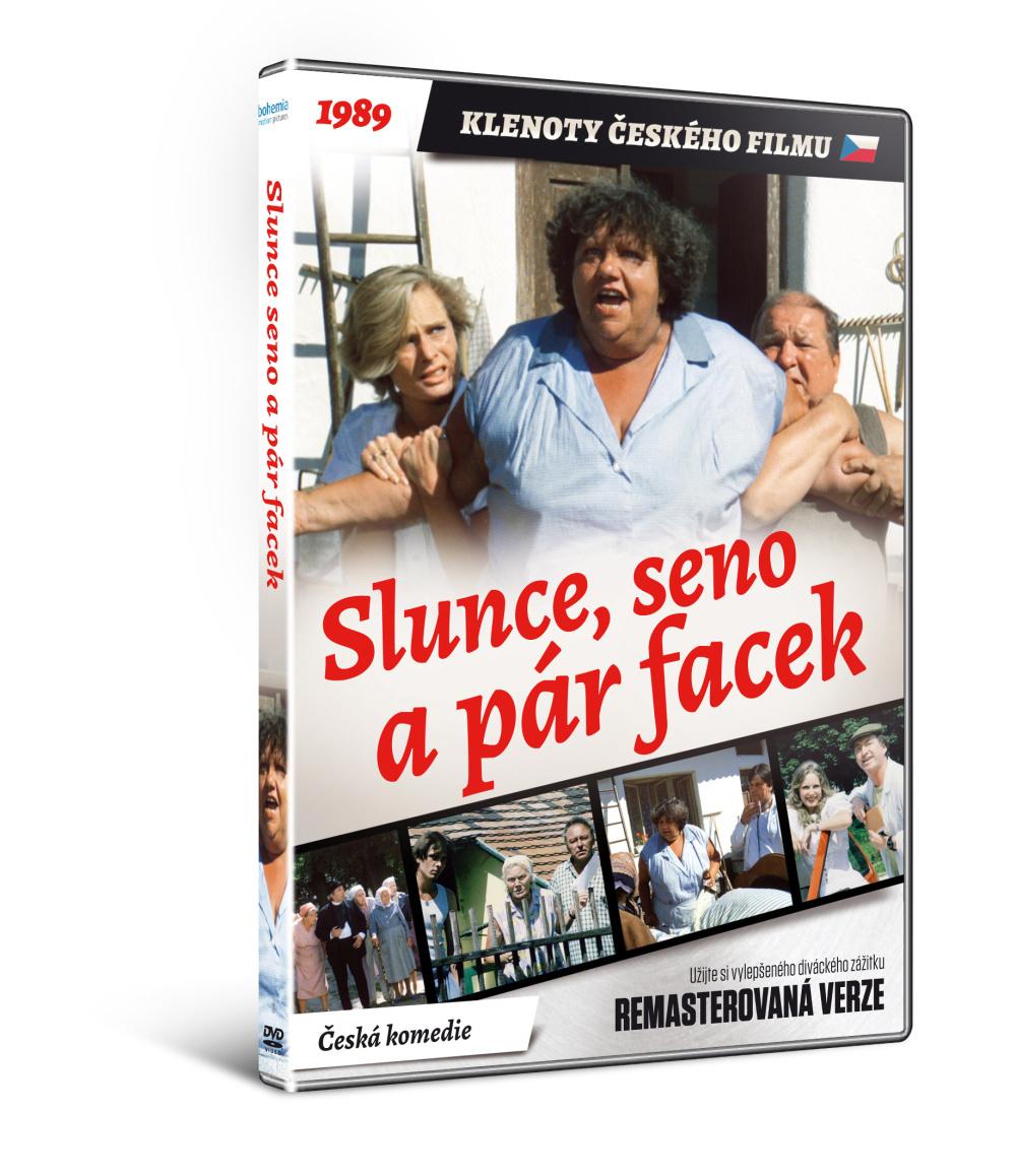 Slunce, seno a pár facek - edice KLENOTY ČESKÉHO FILMU (remasterovaná verze) - D
