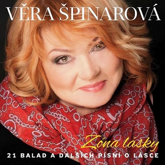 Zóna lásky - Věra Špinarová - CD
