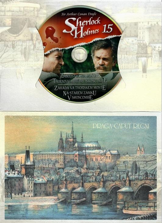 Sherlock Holmes 15 - Záhada na Thorském mostě/Na starém zámku v Shoscombe ( dárk - DVD