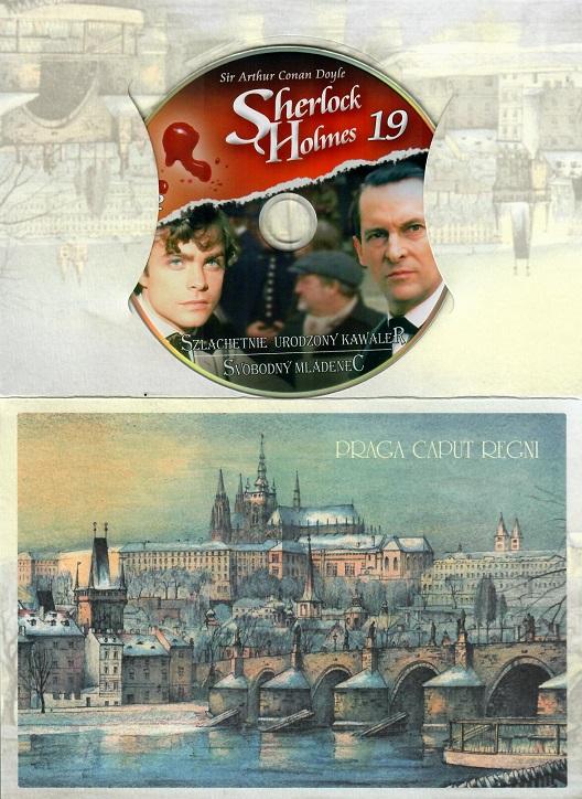 Sherlock Holmes 19 - Svobodný mládenec ( dárkový papír obal ) - DVD