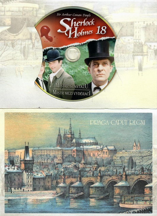Sherlock Holmes 18 - Mistr mezi vyděrači  - DVD