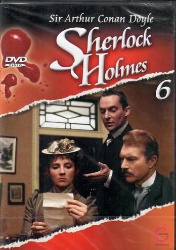 Sherlock Holmes 6 - Dům u měděných buků/Řecký tlumočník - DVD