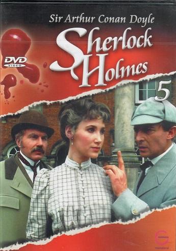 Sherlock Holmes 5 - Strakatý pás/Modrá karbunkule - DVD