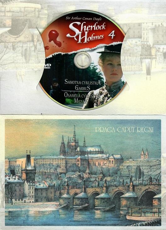 Sherlock Holmes 4 - Osamělá cyklistka/mrzák ( dárkový papír obal ) - DVD