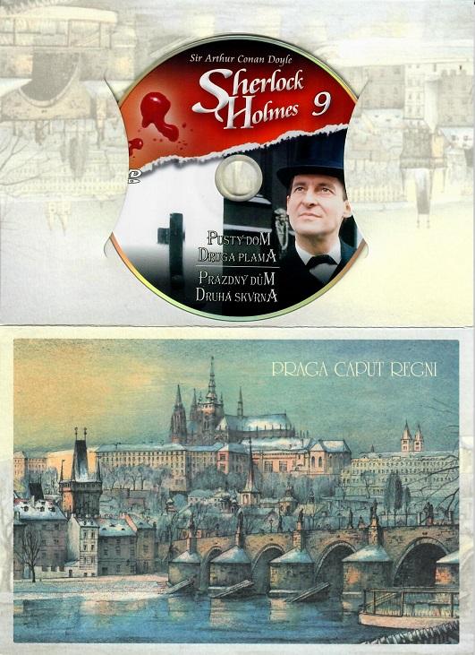 Sherlock Holmes 9 - Prázdný dům/Druhá skvrna - DVD