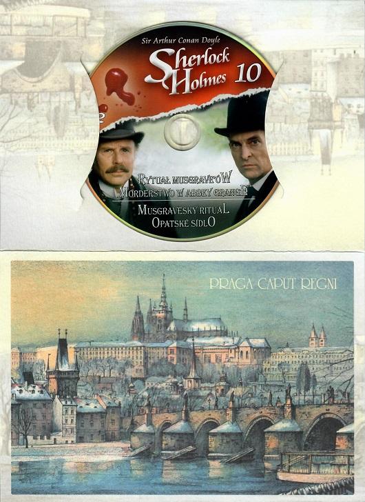 Sherlock Holmes 10 - Musgravenský rituál/Opatské sídlo ( dárkový obal ) - DVD