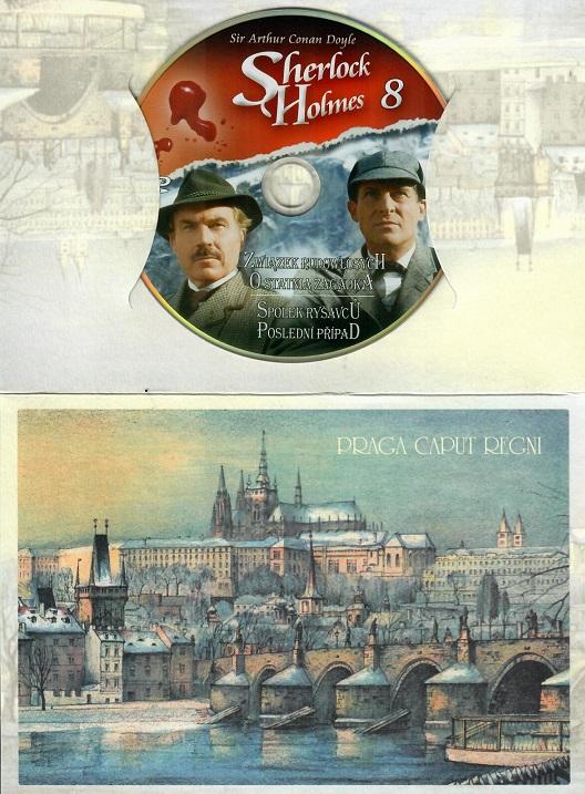 Sherlock Holmes 8 - Spolek Ryšavců/Poslední případ ( dárkový obal)  - DVD