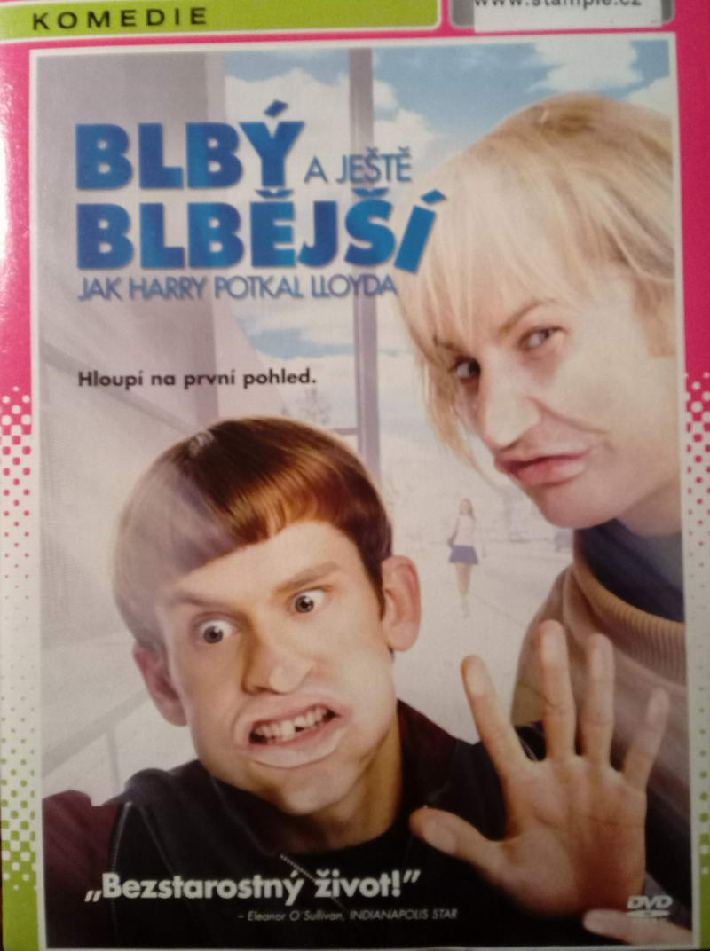 Blbý a ještě blbější ( pošetka ) DVD