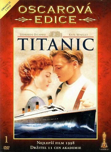 Titanic - oscarová edice 2DVD ( bazarové zboží ) digipack DVD