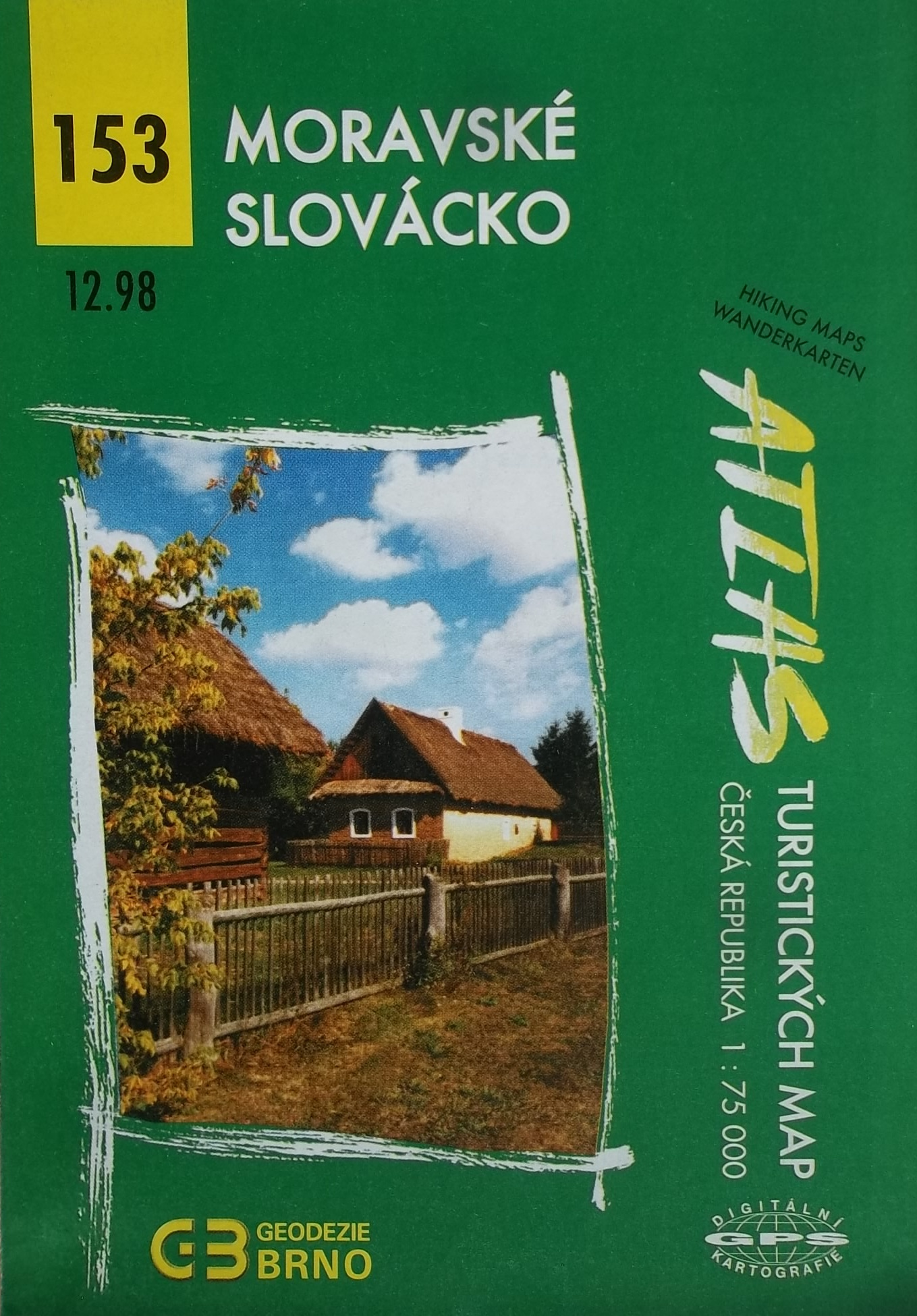 Moravské Slovácko - Atlas turistických map 153