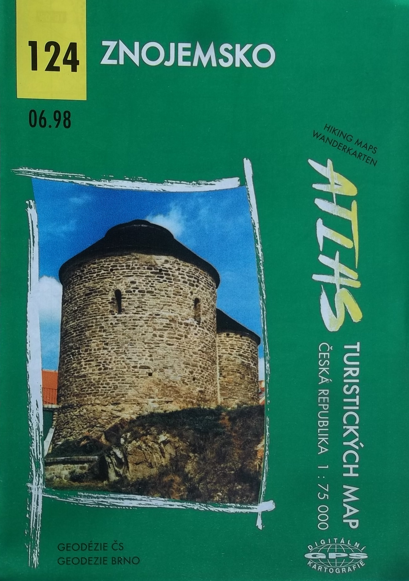 Znojemsko - Atlas turistických map 124