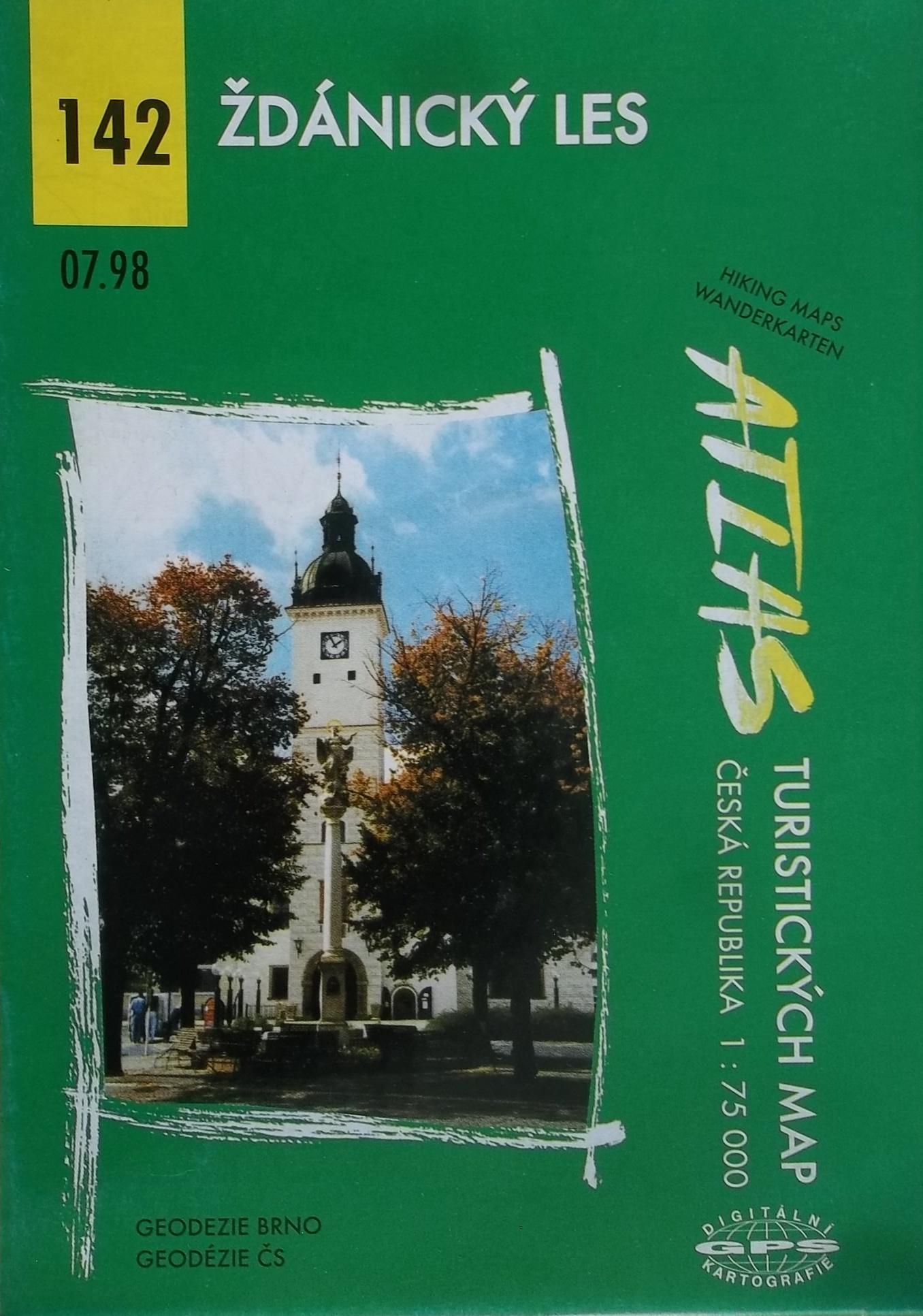 Ždánický les - Atlas turistických map 142