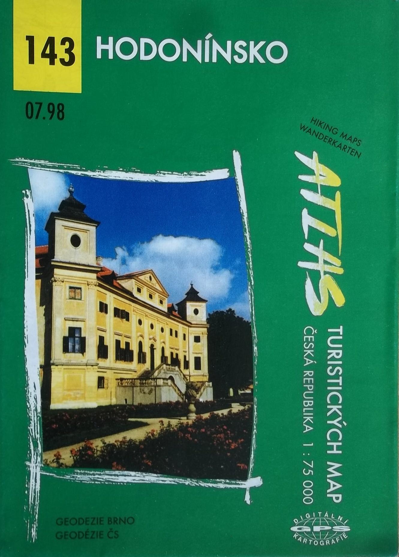 Hodonínsko - Atlas turistických map 143