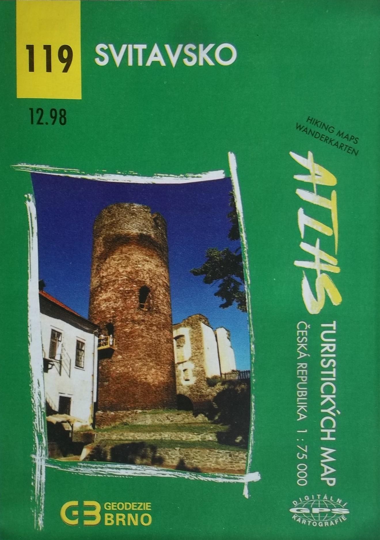 Svitavsko - Atlas turistických map 119